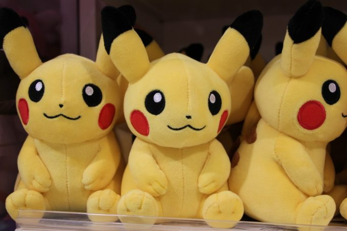 子供と大丸梅田店にあるポケモンセンターオーサカへ行って来ました。