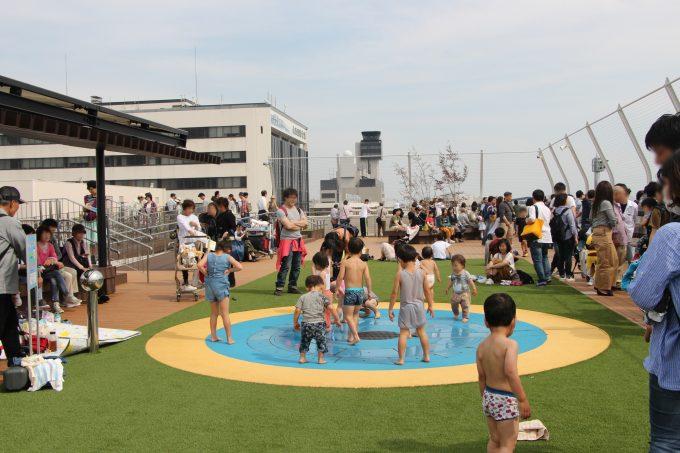 水遊びも出来る!リニューアルオープンした大阪国際空港(伊丹空港)へ子供とおでかけ