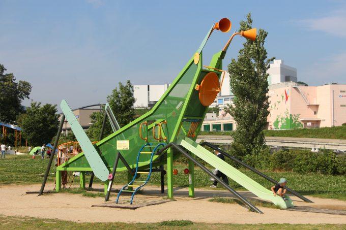 無料駐車場もあり!子連れで「彩都西公園」へ行って来ました。(茨木市)
