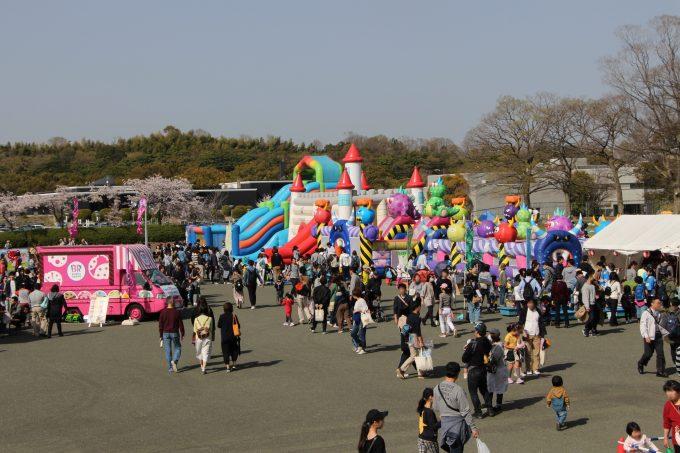 万博記念公園へお花見(桜まつり)&全国大陶器市に行って来ました。