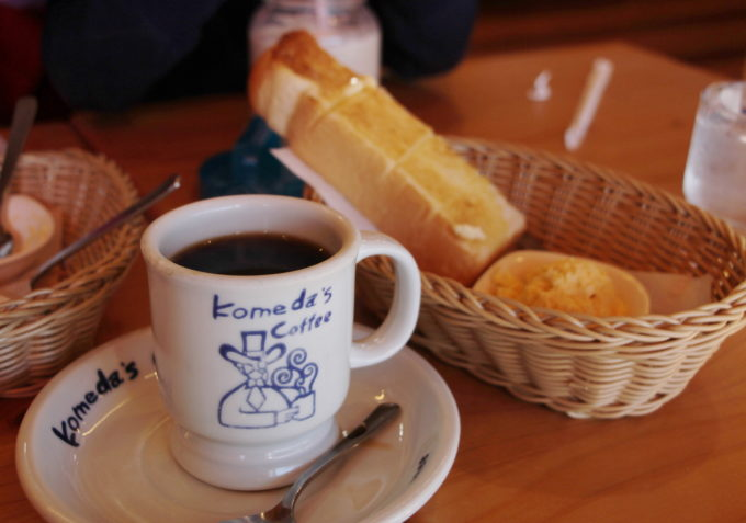箕面市小野原「コメダ珈琲」のモーニングへ行って来ました。