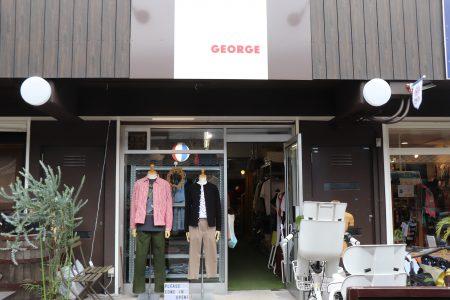 知らなかったブランドに出会える。高槻市のセレクトショップ「GEORGE」