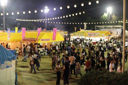「茨木フェスティバル2019」の様子。(少し)