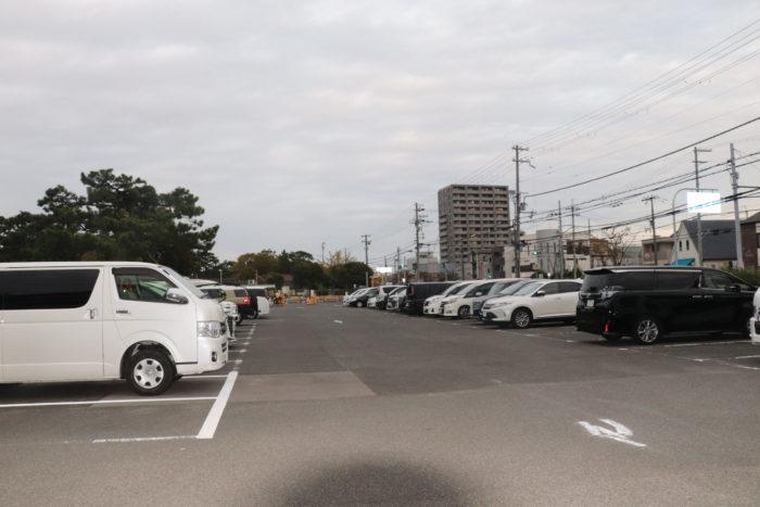 浜寺公園駐車場